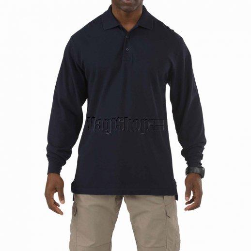 5.11 Professional Polo - lange ærmer - Black